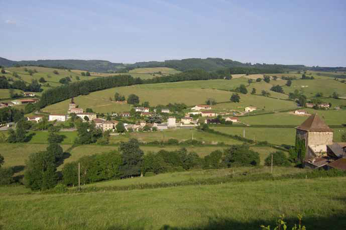 Le village de Germolles